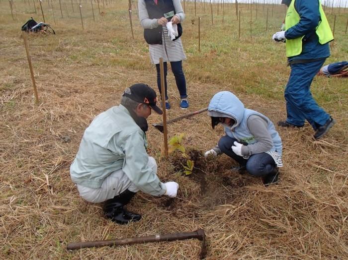 平成27年度 環境リレーションズ研究所 植樹